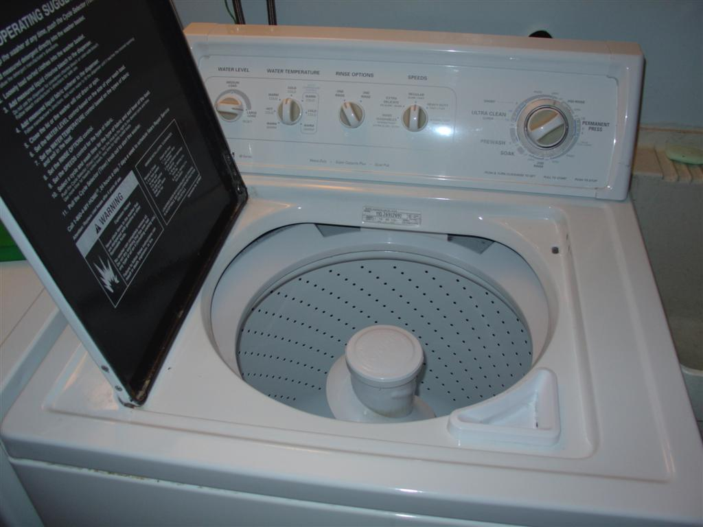 kenmore washing machine wont drain